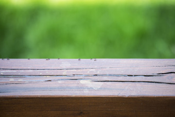 ants above a wooden beam