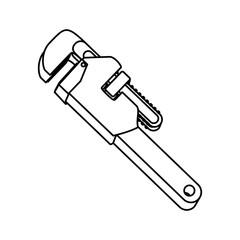 Construction tool equipment icon vector illustration graphic design