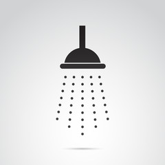 Shower vector icon.
