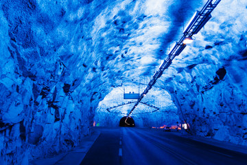 Lærdal Tunnel in Norway