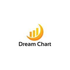 Modern Dream Chart Logo template designs