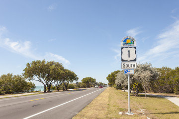 Florida Scenic Highway Sign