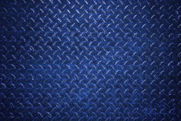 Blue diamond steel plate