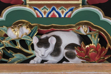 眠り猫 日光東照宮,世界遺産