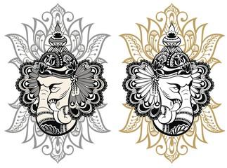 Hindu Lord Ganesha
