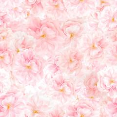 SEAMLESS pattern of sakura blossoms