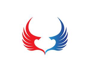 Wings logos