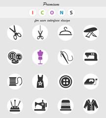 tailoring icon set
