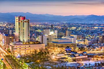 Toyama, Japan Skyline