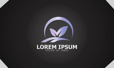 green leaf farm organic logo