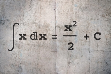 Integral of a function