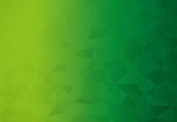 背景 ビジネス イメージ ローポリゴン(グリーン)