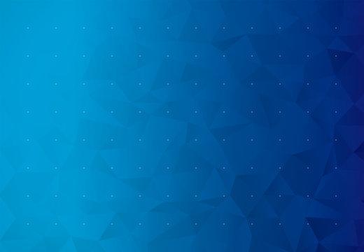 背景 ビジネス イメージ ローポリゴン(ブルー)