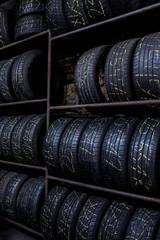 Reifen in Werkstatt