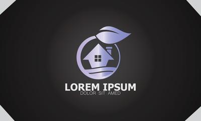 house garden ecology logo