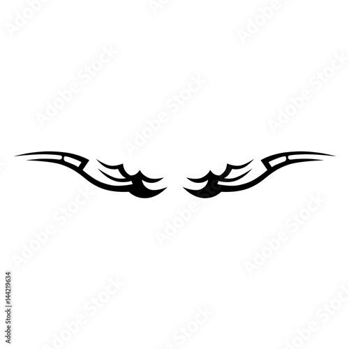 Tattoo Tribal Wings Designs Vector Sketch Of A Tattoo Art Tribal