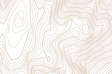 Abstract topographic map. Vintage vector background.