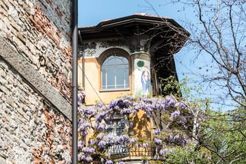 Bergamo Architecture detail