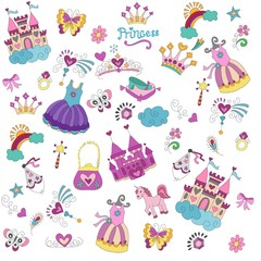 pattern for princesses