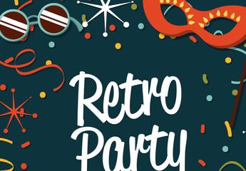 Retro Illustrated Logo 4