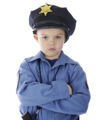 Sad Little Cop