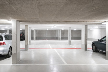 car parking garage