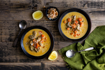 Coconut Carrot stew