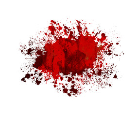 Blood or Paint Splatter