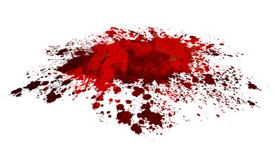 Blood or Paint Splatter