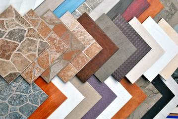 Obraz Various decorative tiles samples. - fototapety do salonu