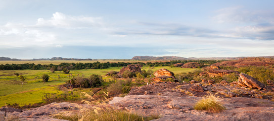 Ubirr Rock Panorama -Northern Territory, Australia