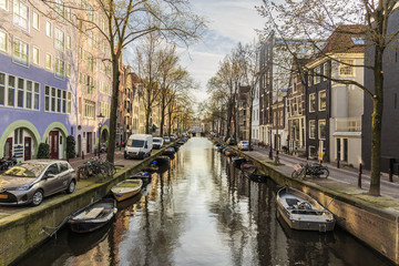 Canal of Amsterdam, Netherlands