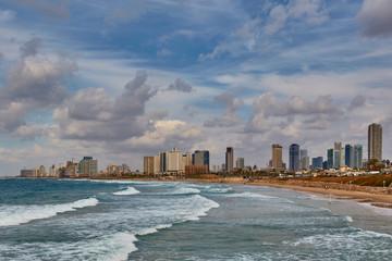Tel Aviv city - sea view day time