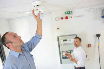 smoke detection trial