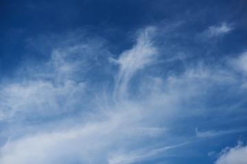 Blue skyline on day time