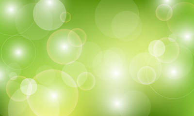 Vector abstract background with pearl circles
