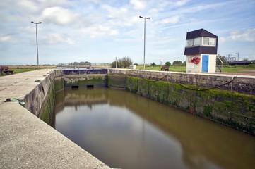 France, Carentan - Ecluses du canal