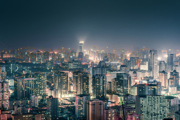 City CBD skyline
