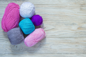 colored wool for knitting