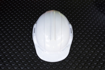 Head Protection on blackgroung black