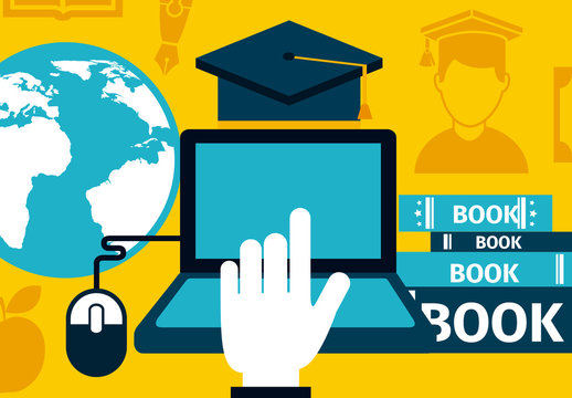 Education and E-Learning Infographic 4