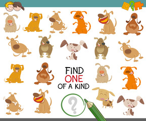 find one of a kind dog character
