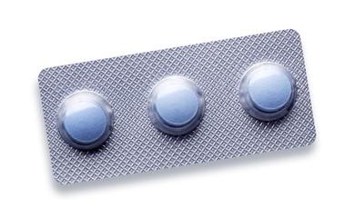 Pills blister pack