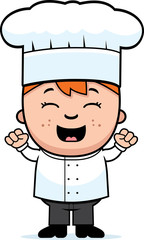 Child Chef Excited