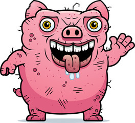 Ugly Pig Waving