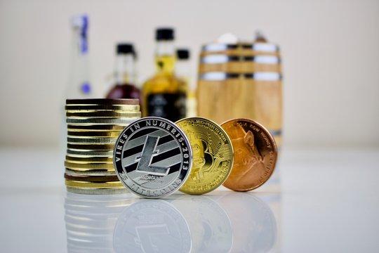 Litecoin bitcoin and dogecoin