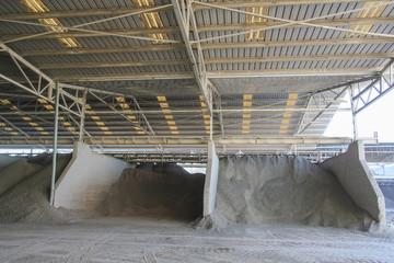 Factory of ceramic clay