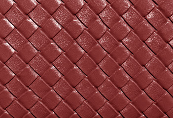 Brown color leather pattern.