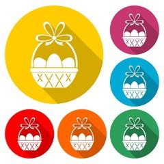 Vector Easter Basket - Illustration