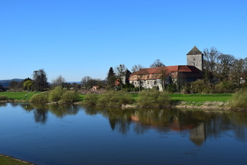 Rittergut an der Weser